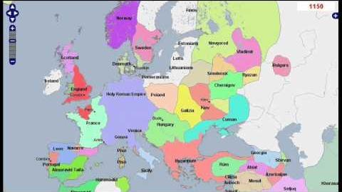 History of Europe (3000 BC - 2013 AD)