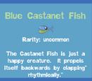 Blue Castanet Fish
