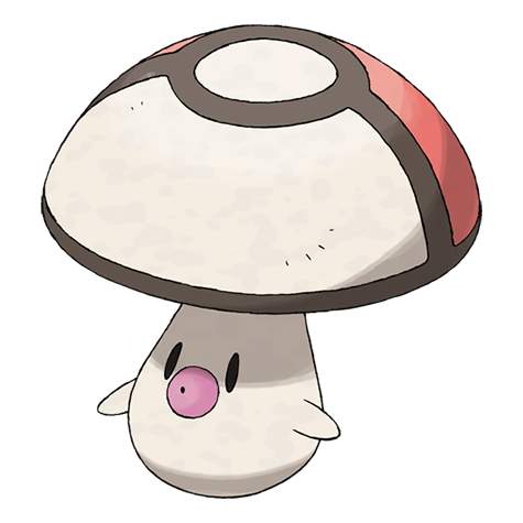 foongus pokemon coloring pages - photo#29