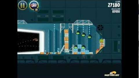 Death Star 2-26 (Angry Birds Star Wars)/Video Walkthrough