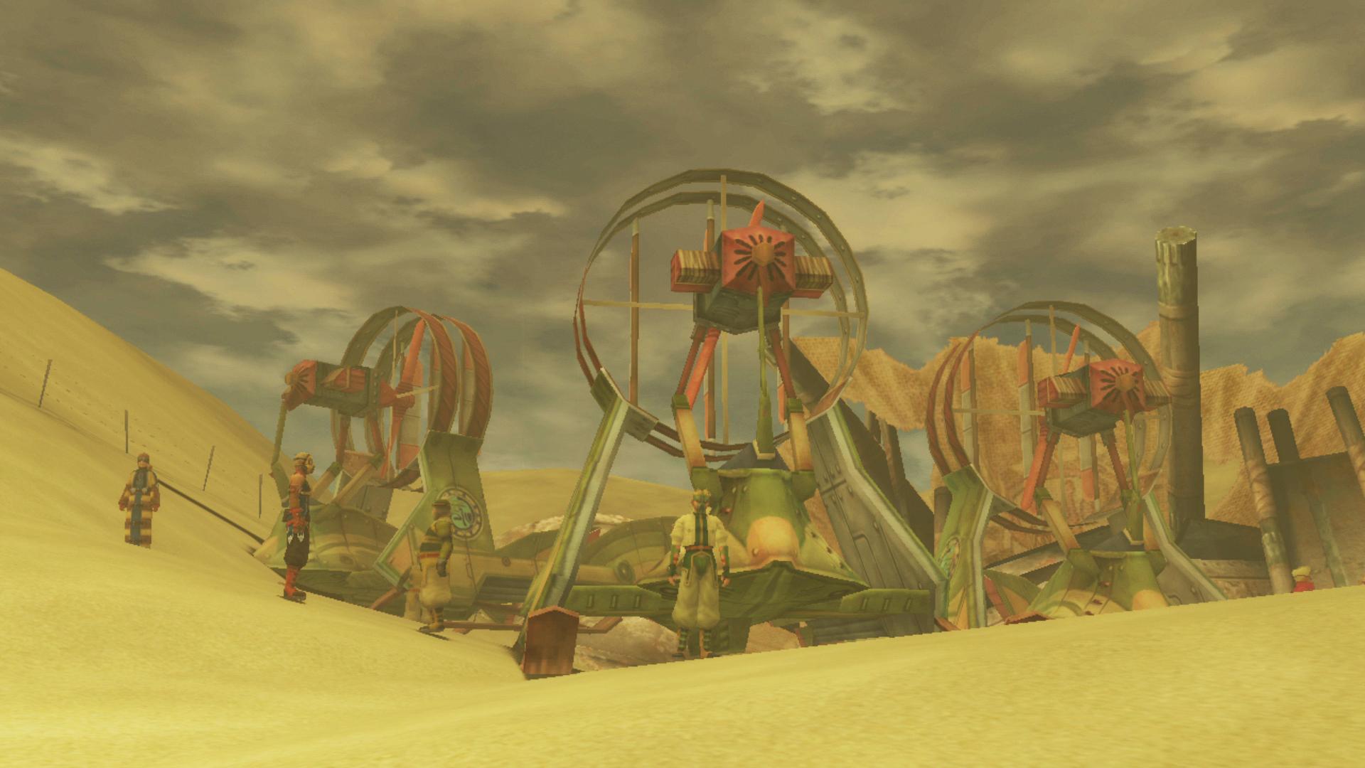 Final Fantasy X-2 - Minigames - Bikanel & Experiment