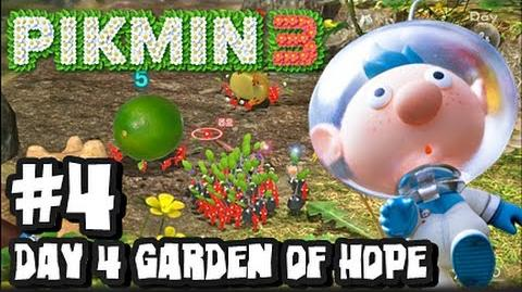 Pikmin 3 (2048p) - Part 4 - Day 4 The Garden of Hope