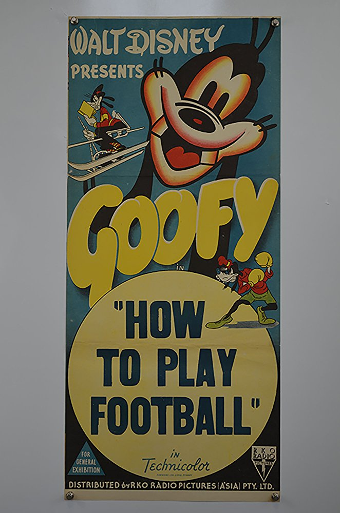 goofy how to play football