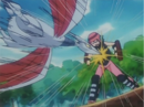 Miki training with Skarmory.png