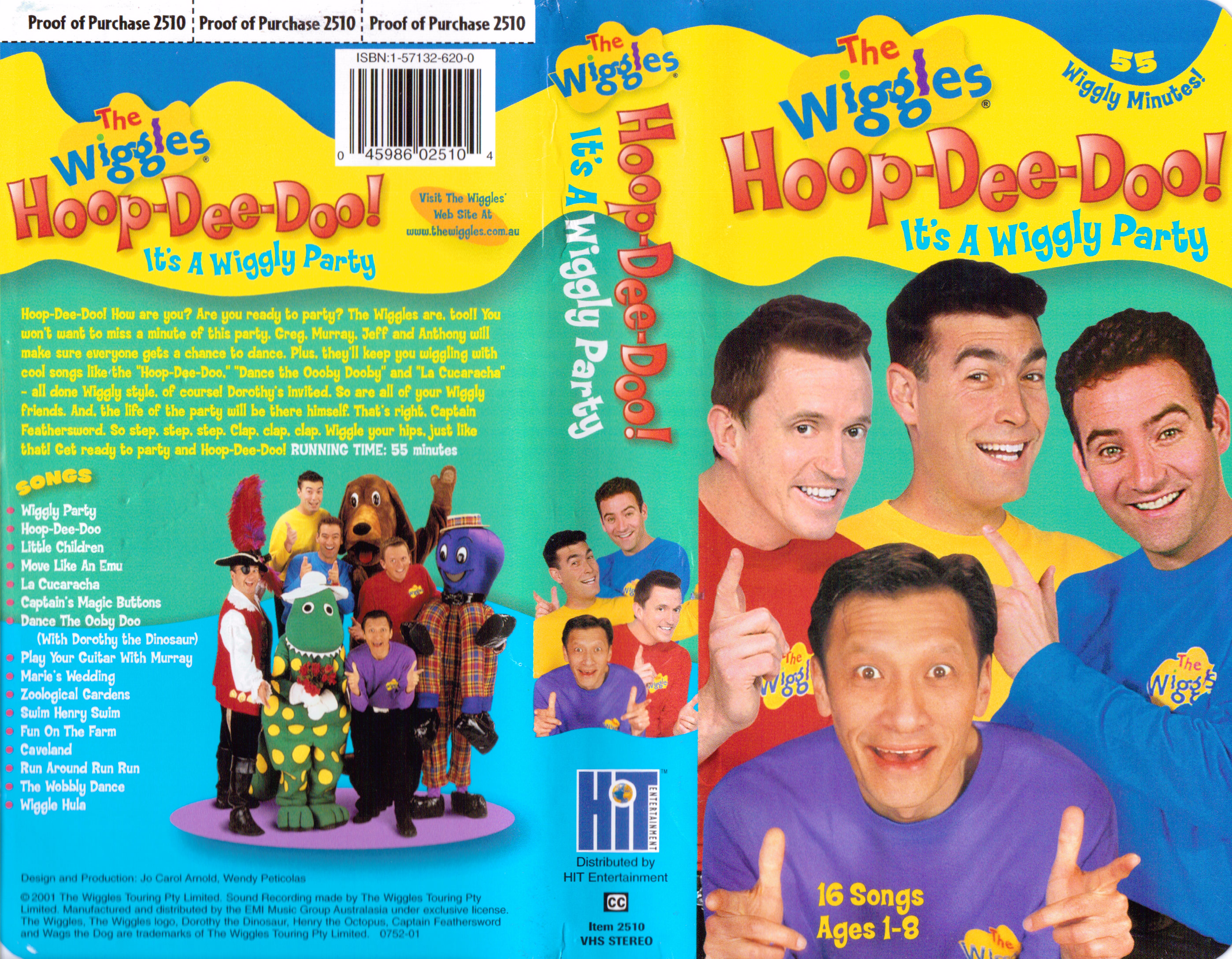 The Wiggles Hoop Dee Doo It S A Wiggly Party Pictures to ...