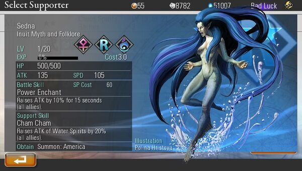 Sedna - Destiny of Spirits Wiki
