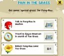 Pain in the Grass