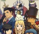 Professor Layton vs. Phoenix Wright: Ace Attorney: Art Works