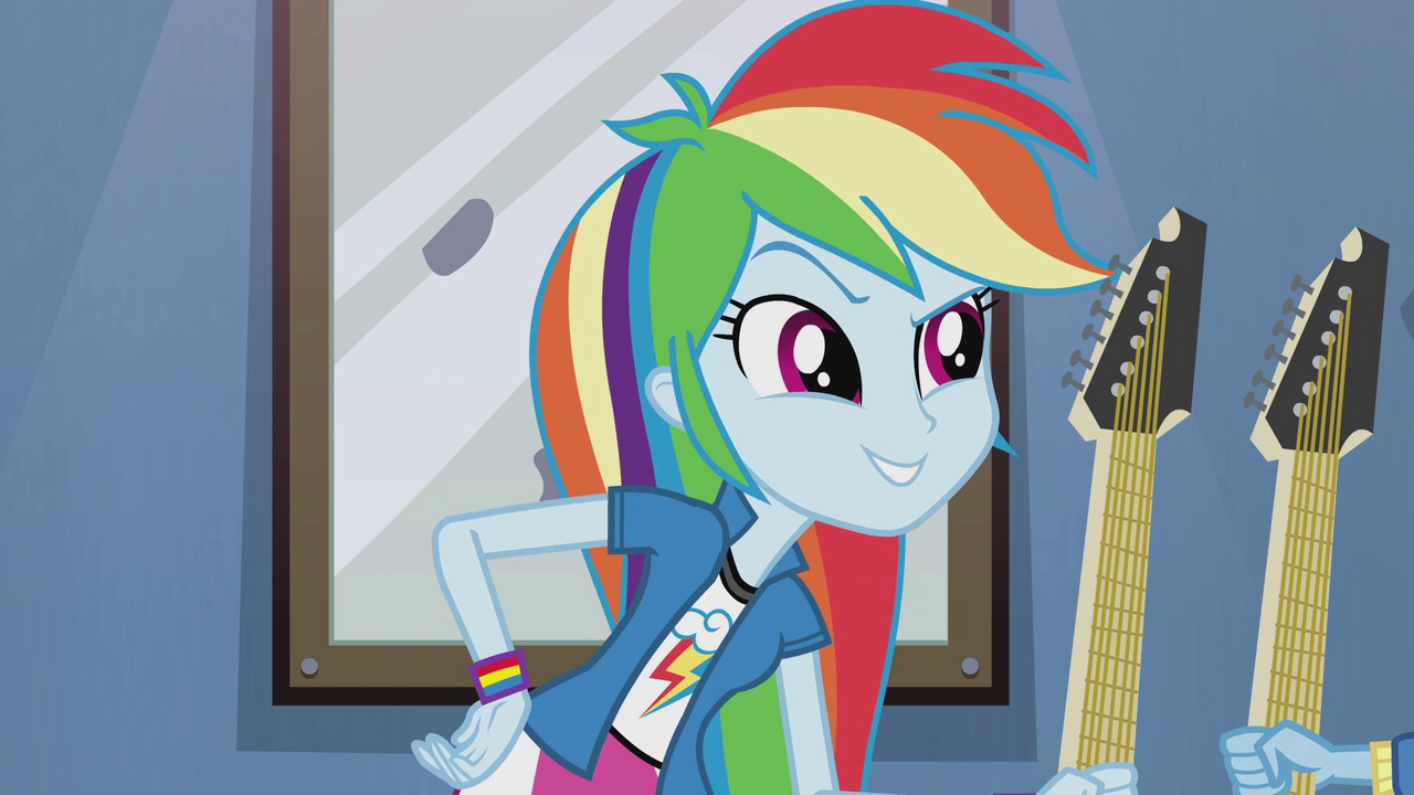 Letters To Celestia Eqg2 Rainbow Rocks Manic Expression