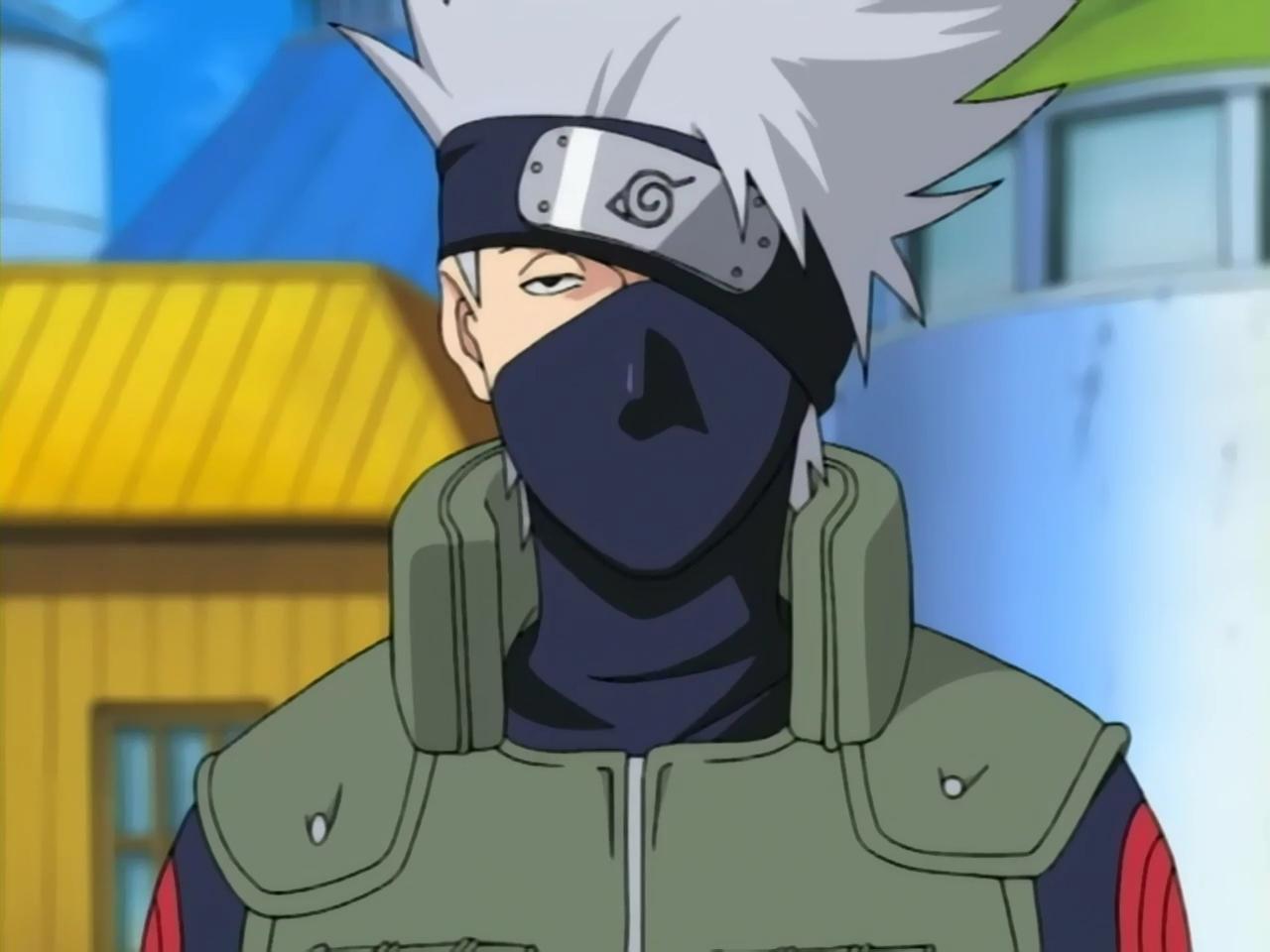 Kakashi Face With Mask