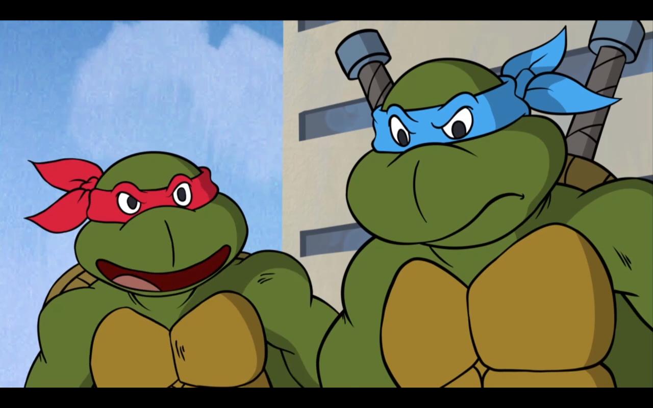 ninja turtle cartoon characters