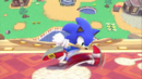 SSB4 Sonic taunting in Animal Crossing.png
