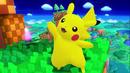 SSB4 Pikachu waving on Windy Hill.png