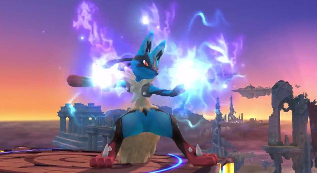 Super Smash Bros 3DS/Wii U Mega-Lucario_en_SSB4_Wii_U