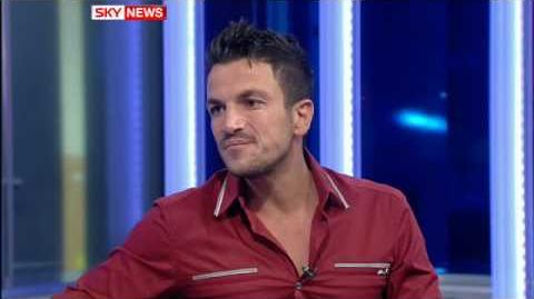 Peter Andre Breaks Down On TV While Talking About His Kids