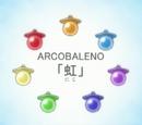 Tétines Arcobaleno
