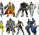 Anarchy Reigns Characters