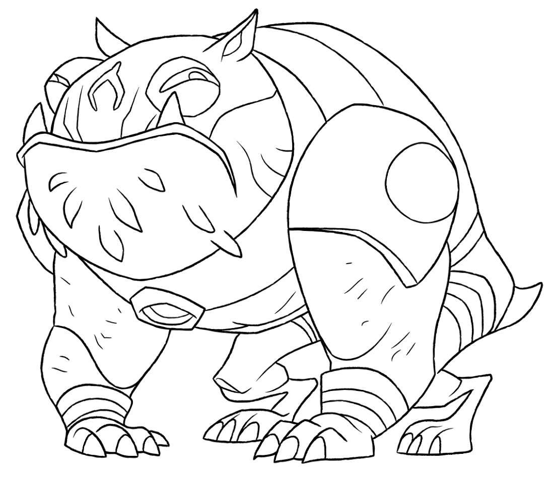 ben 10 ultimate alien coloring pages - ben 10 ultimate alien coloring pages sketch coloring page