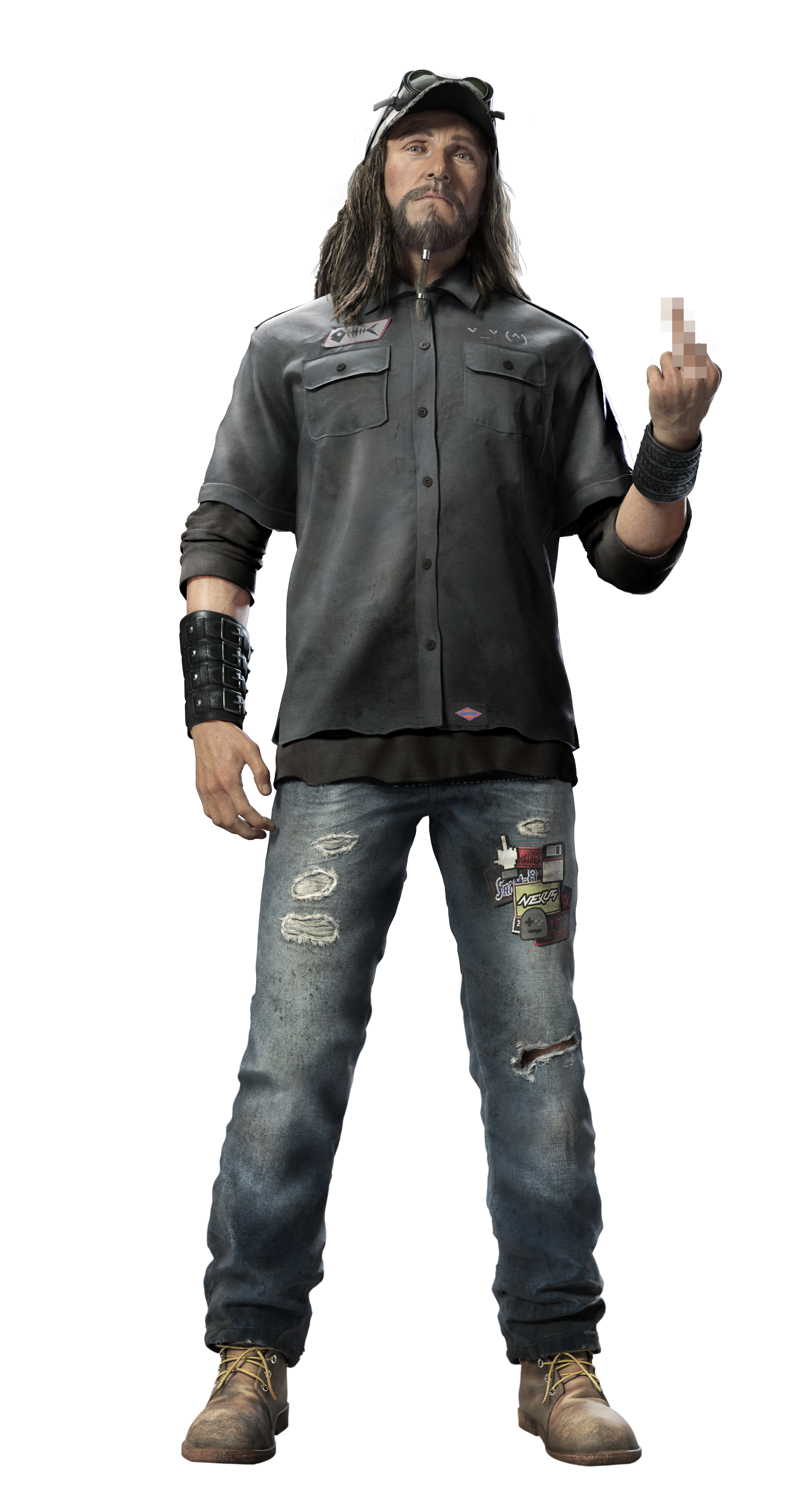 Watch dogs 2 clothing stores