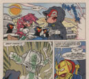 Archie Knuckles the Echidna Issue 9