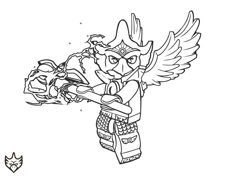 Lego Chima Eris Coloring Pages Eris Lego Chima Colour