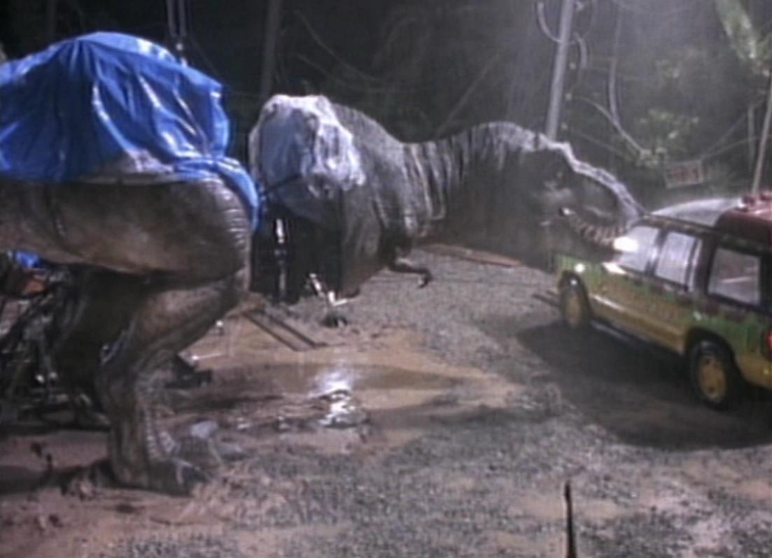 Jurassic Park Tyrannosaurus Rex Animatronics Park Pedia