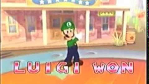 All Mario Party's - Luigi wins by doing absolutely nothing (1-9, DS, 3DS)