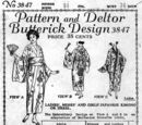 Butterick 3847 A