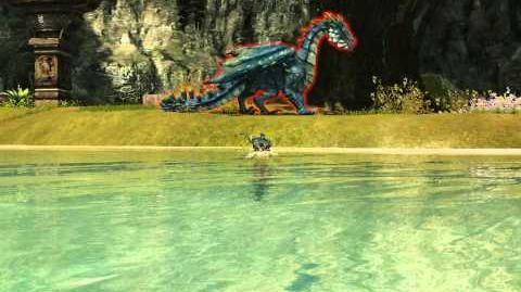 Pale Radiance pathway 2 (gloriously flew across the lake) - Dragon's prophet