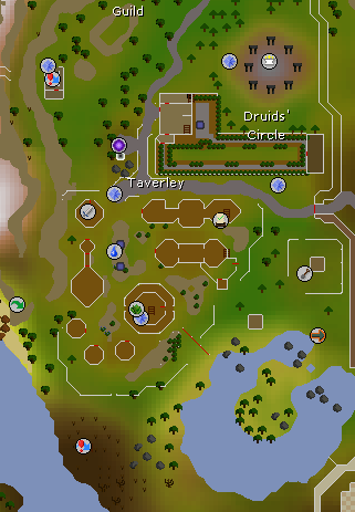 old school runescape how to open map