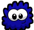 Navy Blue Fuzzy