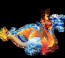 Dragón Hielo y Fuego