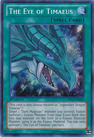 the eye of timaeus yugioh its time to duel