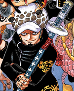 Law's Manga Color Scheme