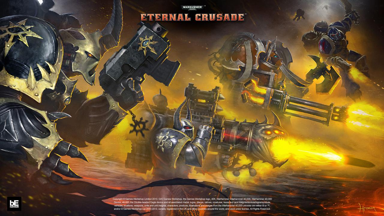 warhammer 40k eternal crusade interview when tabletop and online