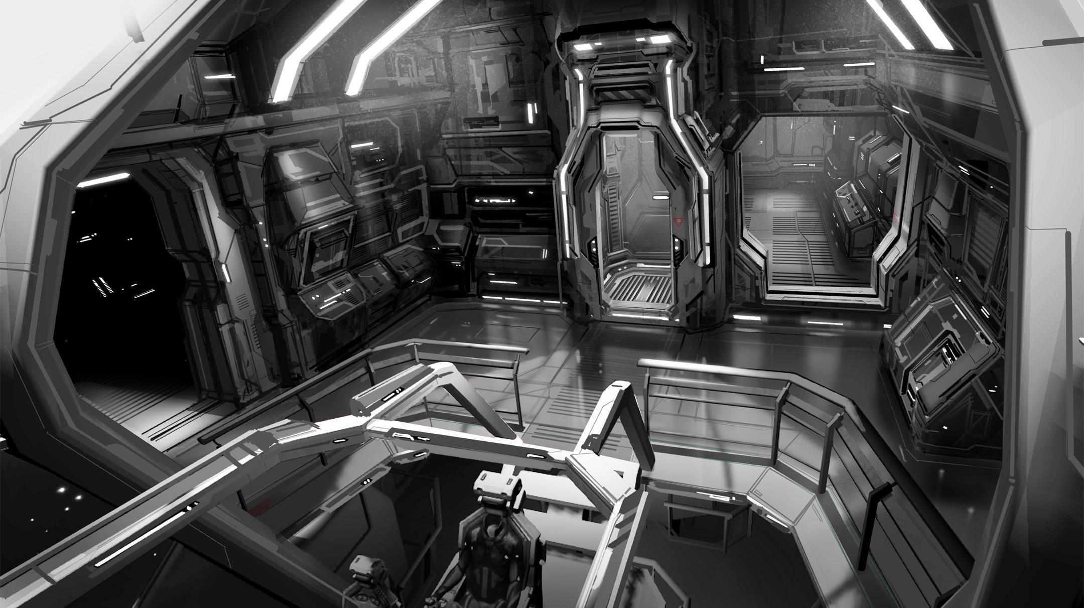 Ships Interiors Concept Art Or Clues