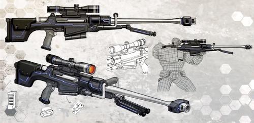 deth machine rifle build