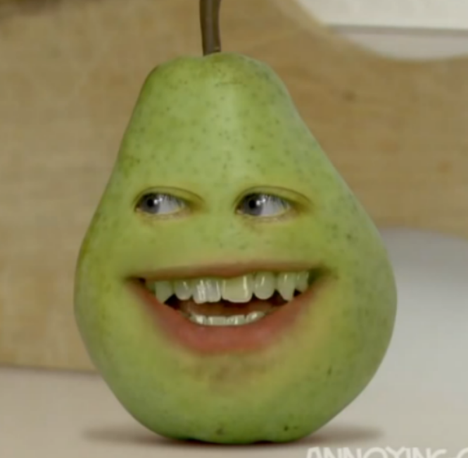 Image - Ao pear 174x252.png - Annoying Orange Wiki, the ...