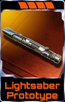 Luke Skywalker - Star Wars Assault team Wiki |Prototype Lightsaber