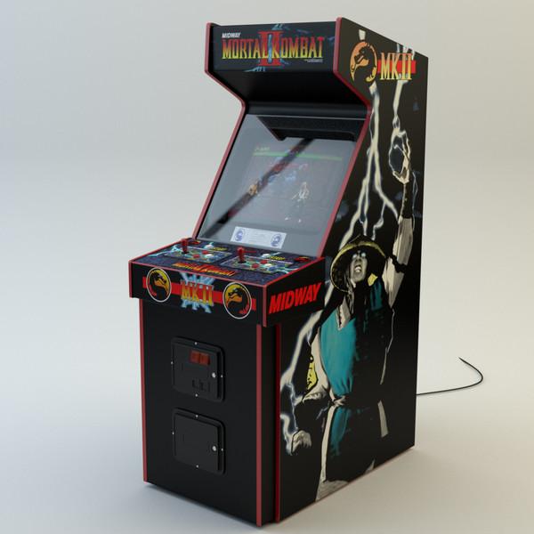 mk2 arcade machine