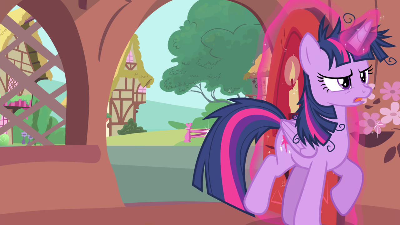 Image twilight sparkle closing her door my for My little magic door