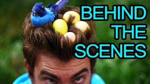 GMM My Hair Song - Behind the Scenes