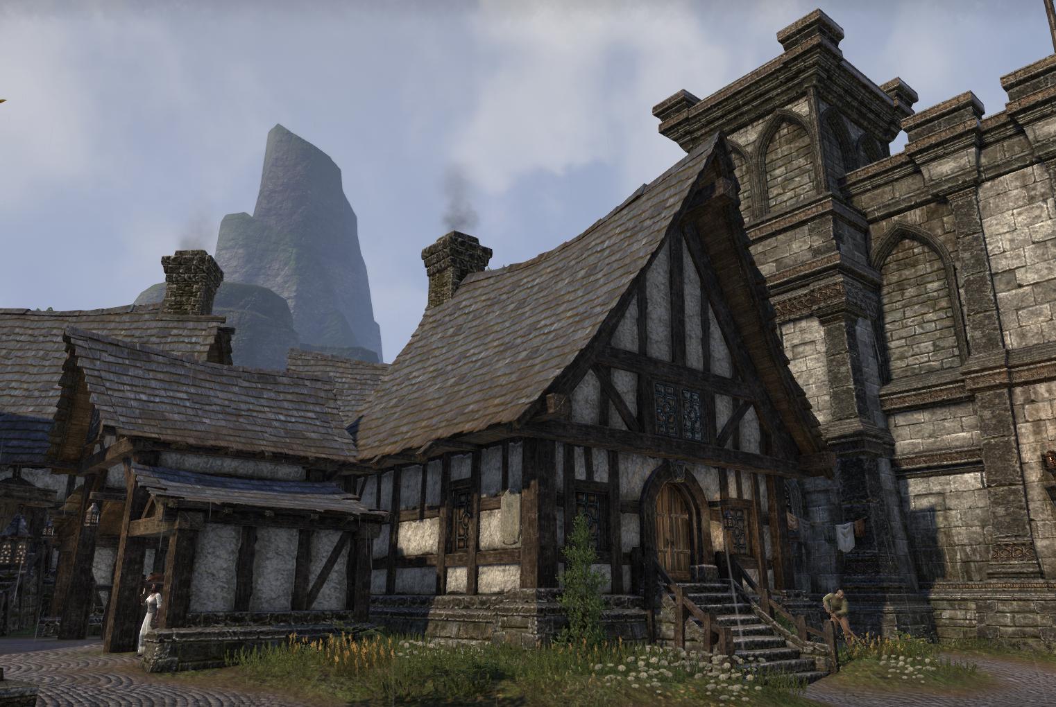 Breton architecture as it is seen in The Elder Scrolls OnlineBreton Elder Scrolls