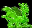 Dragón Fluido Verde