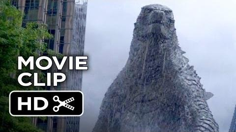 Godzilla Movie CLIP Let Them Fight (2014) HD