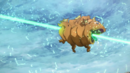 Asuna defeating the Lungfish.png