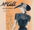 McCall Style News July 1940