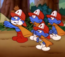 Fire-Fighting Smurfs