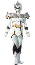 La White Mystic Ranger es una de los superh  233 roes y miembros del    White Mystic Ranger