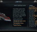 Nash's Lightning Carrier